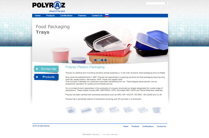 Polyraz Plastics Packaging - leading and innovating company whose expertise is food packaging and cut sheets