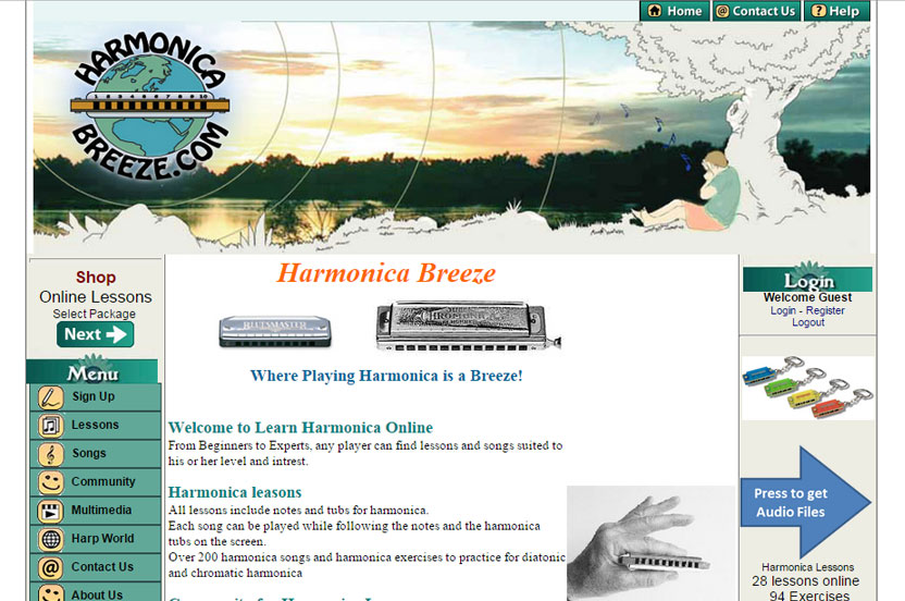 Harmonica Breeze - Where Playing Harmonica is a Breeze